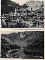 DEPT 12 : Lot De 2 Cpsm ; Vallée De La Dorbie , La Roque Sainte Marguerite - Andere Gemeenten