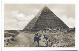CPA Le Caire  The Chefren Pyramid - Cairo