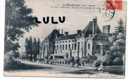 DEPT 92 : 2 Scans , La Malmaison Sous L Empire , La Cour D Honneur - Rueil Malmaison