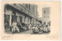 TUNISIE - Café Maure - Garrigues 19 - 1901 - Tunisie