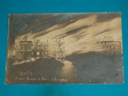 """64 ) Biarritz - Incendie Du Palais """" 1ér Février 1903  - Année   - EDIT - Maurice - Biarritz"""