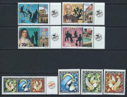 Malta 1996 - Anniversaries & Christmas SG1008-1011 & 1034-1037 MNH Cat £5.95 SG2015 - Malta
