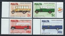 Malta 1996 - Buses SG1030-1033 MNH Cat £4.50 SG2015 - Malta