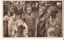 OUBANGUI CHARI 33 FILLES DU SULTAN DE RAFAI - Centrafricaine (République)
