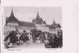 BANGKOK (SIAM) ROYAL PALACE - Thaïlande