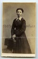 CDV P. Weynen & Fils Photographes, Maestricht. Portrait D'une élégante. - Photos