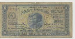 ETHIOPIA  P. 6 2 T 1933 F - Ethiopie