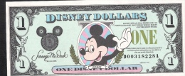 U.S.A. DISNEY 1 DOLLAR   1991   UNC. - Bankbiljetten