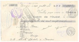 MANDAT. VIENNE BEUXES. GRAINS & FRUITS CLEMENT SEIGNEURIN 1933 / 221 - Lettres De Change