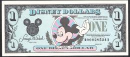U.S.A. DISNEY 1 DOLLAR   1990   UNC. - Andere