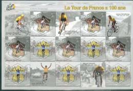 France 2003 - Le Tour De France 100 Ans - BF 59, Neuf** - Sheetlets