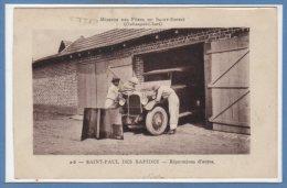 AFRIQUE  -- République Centrafricaine - (Oubangui Chari ) -- Saint Paul Des Rapides - Réparation D'autos - Central African Republic