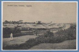 AFRIQUE  -- OUGANDA -- Swahili Lines , Entebbe - Uganda