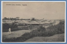 AFRIQUE  -- OUGANDA -- Swahili Lines , Entebbe - Ouganda