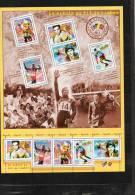 FRANCE : Le Siècle Au Fil Du Timbbre : Le SPORT : Cerdan, Carl Lewis, J.C Killy, Lindberg, Coupe Du Monde De Football - Neufs
