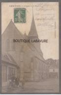 27 - GROS THEIL--L'Eglise Et La Place-animé - Francia