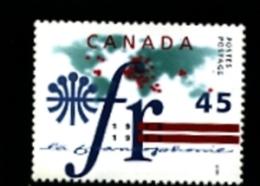 CANADA - 1995  LA FRANCOPHONIE  MINT NH - 1952-.... Regno Di Elizabeth II