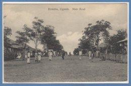 AFRIQUE  -- OUGANDA --  Entebbe - Main Road - Uganda