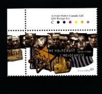 CANADA - 1995  ANNIVERSARY OF THE END OF HOLOCAUST  MINT NH - 1952-.... Regno Di Elizabeth II