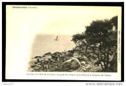 NOIRMOUTIER (Vendée) - La Côte Et Le Bois De La Chaise ... - CP Précurseur, Vers 1900, Dos Non Divisé. - Ile De Noirmoutier