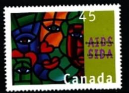 CANADA - 1996  CONFERENCE ON AIDS  MINT NH - 1952-.... Regno Di Elizabeth II