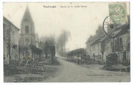 VOULANGIS (Seine Et Marne) - Entrée De La Vieille Route - Église - Animée - France