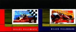 CANADA - 1997  GILLES VILLENEUVE  SET  MINT NH - 1952-.... Regno Di Elizabeth II