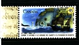 CANADA - 1997  CABOT'S DISCOVERY OF NORTH AMERICA  MINT NH - 1952-.... Regno Di Elizabeth II