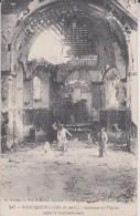 FONCQUEVILLERS. Intérieur De L'église Après Le Bombardement - Francia