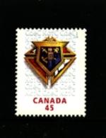 CANADA - 1997  KNIGHTS OF COLUMBUS  MINT NH - 1952-.... Regno Di Elizabeth II
