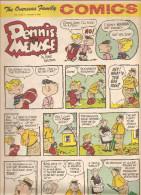 Dennis The Menace By Hank Ketcham The Overseas Jamilly Comics Vol 13 N°3 Du 16 Janvier 1970 - Bücher, Zeitschriften, Comics