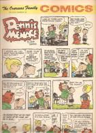 Dennis The Menace By Hank Ketcham The Overseas Jamilly Comics Vol 13 N°4 Du 23 Janvier 1970 - Bücher, Zeitschriften, Comics