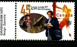 CANADA - 1997  CONGRESS OF POSTAL  MINT NH - 1952-.... Regno Di Elizabeth II