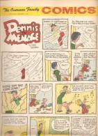 Dennis The Menace By Hank Ketcham The Overseas Jamilly Comics Vol 13 N°7 Du 13 February 1970 - Bücher, Zeitschriften, Comics