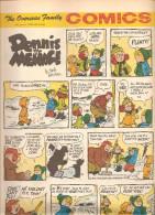 Dennis The Menace By Hank Ketcham The Overseas Jamilly Comics Vol 13 N°8 Du 20 February 1970 - Bücher, Zeitschriften, Comics