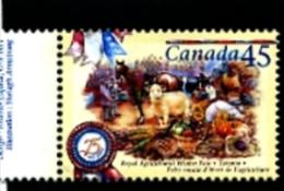 CANADA - 1997  AGRICULTURAL WINTER FAIR  MINT NH - 1952-.... Regno Di Elizabeth II