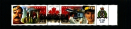 CANADA - 1998  ROYAL CANADIAN MOUNTED POLICE  PAIR  MINT NH - 1952-.... Regno Di Elizabeth II