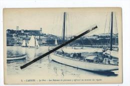 CPA - Cannes - Le Port - Les Bateaux De Plaisance Y Affluent Au Moment Des Régates