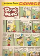 Dennis The Menace By Hank Ketcham The Overseas Jamilly Comics Vol 13 N°10 Du 6 March 1970 - Bücher, Zeitschriften, Comics