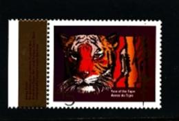 CANADA - 1998   YEAR OF THE TIGER  MINT NH - 1952-.... Regno Di Elizabeth II