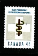 CANADA - 1998   HEALTH PROFESSIONAL  MINT NH - 1952-.... Regno Di Elizabeth II