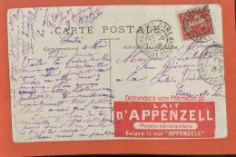 Carte Postale  Fantaisies, Enfants  Divertissement De Nos Bébés  DAGUIN SUR TYPE SEMEUSE 1909  - Juin 2015 Lettre  2 - Postmark Collection (Covers)