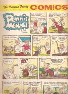Dennis The Menace By Hank Ketcham The Overseas Jamilly Comics Vol 13 N°17 Du 24  April 1970 - Bücher, Zeitschriften, Comics