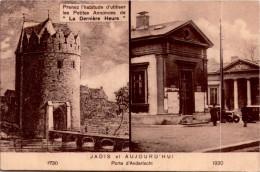 LA PORTE D'ANDERLECHT / TIMBRE  DOS    /   LOT 1282 - Anderlecht