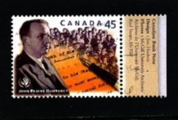 CANADA - 1998   DECLARATION OF HUMAN RIGHTS  MINT NH - 1952-.... Regno Di Elizabeth II