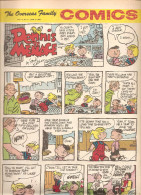 Dennis The Menace By Hank Ketcham The Overseas Jamilly Comics Vol 13 N°24 Du 12 June 1970 - Bücher, Zeitschriften, Comics