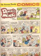 Dennis The Menace By Hank Ketcham The Overseas Jamilly Comics Vol 13 N°27 Du 3 July 1970 - Bücher, Zeitschriften, Comics