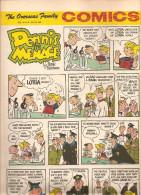 Dennis The Menace By Hank Ketcham The Overseas Jamilly Comics Vol 13 N°28 Du 10 July 1970 - Bücher, Zeitschriften, Comics