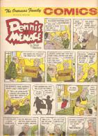 Dennis The Menace By Hank Ketcham The Overseas Jamilly Comics Vol 13 N°30 Du 24 July 1970 - Bücher, Zeitschriften, Comics
