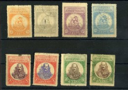 - GRECE 1905 . POSTE DES INSURGES . TIMBRES  OBLITERES . - Local Post Stamps